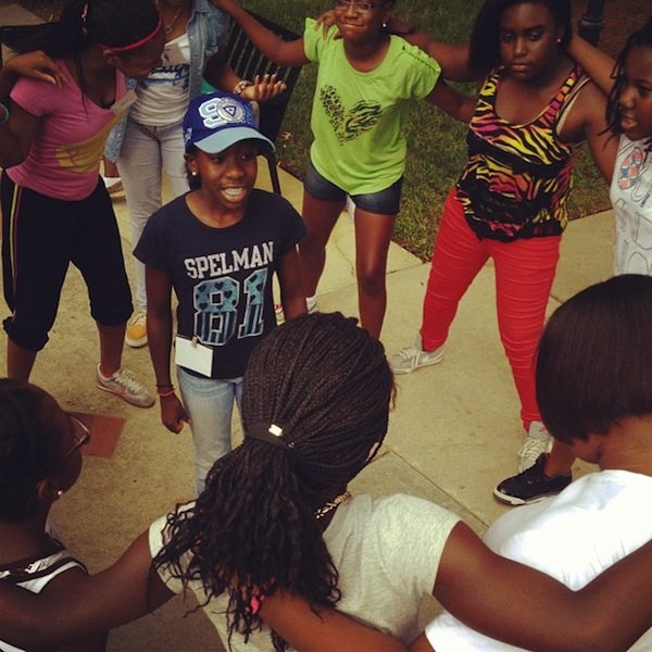 [Photos] Community Dopeness : Keshia Knight Pulliam Kicks Off 'Kamp Kizzy'