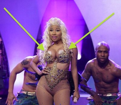 [Video] Nicki Minaj Performs 'Pound the Alarm' on Jay Leno, Exposes Nipple Covers
