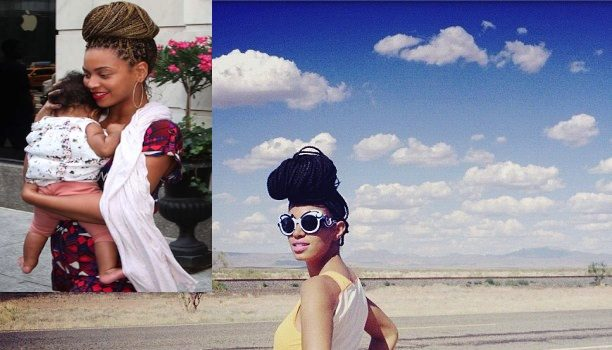 It's A Coincidence : Solange Responds To Sister Beyonce's Similar Box Braid Hair Style