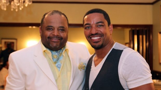 "Verizon Wireless Hosts ""Celebrating Your Story"" #EMF Brunch With Laz Alonso, Pastor Marvin Sapp & Roland Martin"