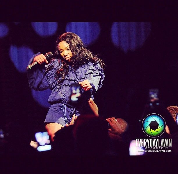 [Video] Brandy Hits DC, Upgrades Choreography, Performs 'Put It Down' Live for First Time