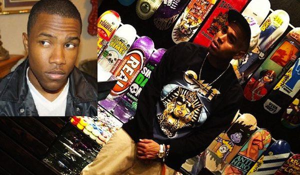 "Chris Brown Denies Saying ""No Homo"" About Frank Ocean"