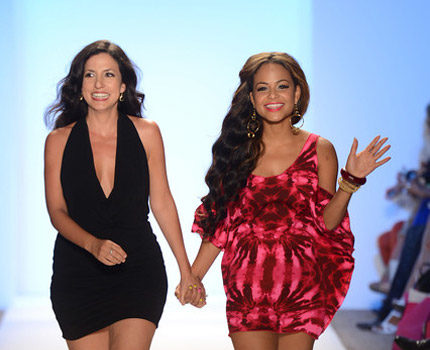 Stylin-On-You-Hoes :: Christina Milian Debuts New Swimsuit Collection