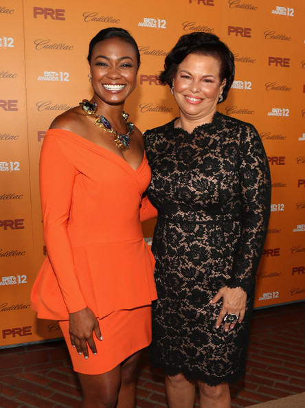 debra lee-tatyana ali-pre bet awards-the jasmine brand
