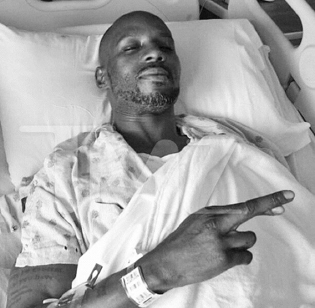 DMX Tweets In Hospital Bed, After Bike Accident