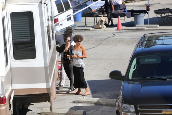 Halle Berry Returns To Work After Head Injury Scare