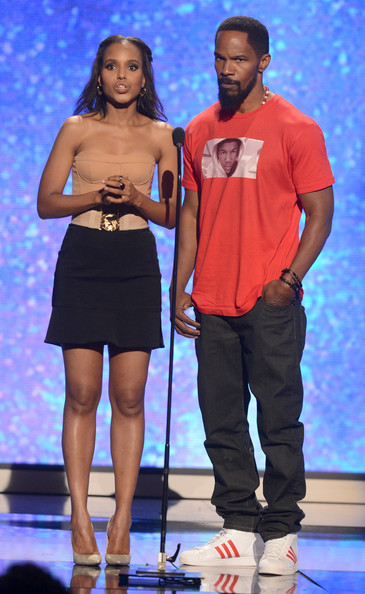 kerry washington-jamie foxx-bet awards-the jasmine brand