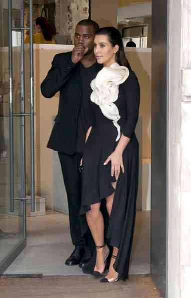 Kim & Kanye Shop at Hermes, Dr. Dre Hits Saint Tropez + Zoe Saldana Hits Armani Show