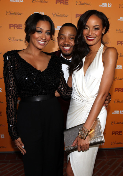lala anthony-terrence j-selita ebanks-debra lee-pre bet awards