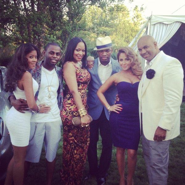 [Candids] Russell Simmons, Rocsi Diaz & Celebs Hit Ne-Yo's Hampton Event