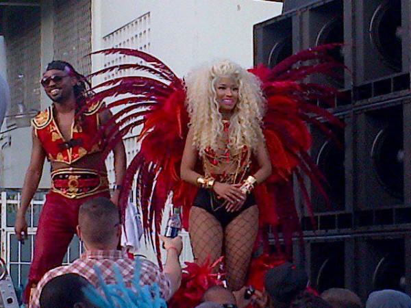 Nicki Minaj Channels Carnival Returns To Trinidad For