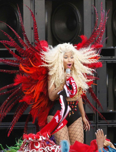 Nicki Minaj Sound The Alarm