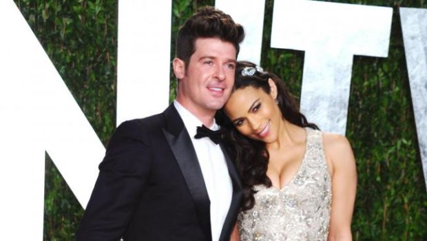 Ex-Playmate Claims Robin Thicke Partied, Flirted & Drank All Night With Her