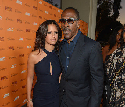 Cup Cakin' On The Carpet :: Rocsi Diaz Brings Eddie Murphy to BET Awards Festivities