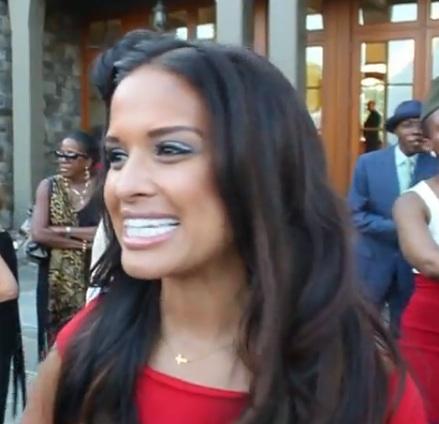 [Video] Rocsi Diaz Says She's Still Single, Eddie Murphy Hasn't Put A Ring On It