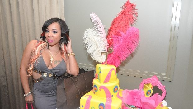 [Photos] Tiny Celebrates B-Day Dinner Party With Mimi Faust & Friends, Gets $1 Million Worth of Jewelry