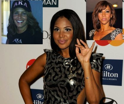 Toni Braxton, Holly Robinson Peete & Suzanne Malveaux Inducted Into Alpha Kappa Alpha
