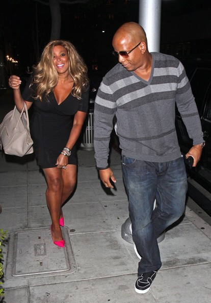 Spotted. Stalked. Scene. A Bare Faced Wendy Williams Dines At Mr. Chows