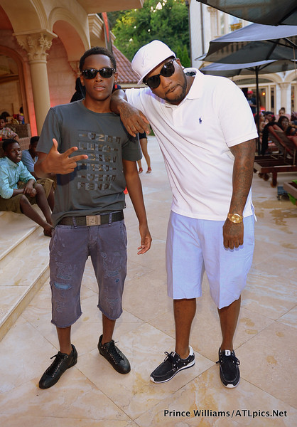 [Photos] Young Jeezy Throws Sweet 16 Birthday Party For Son, Soulja Boy Performs