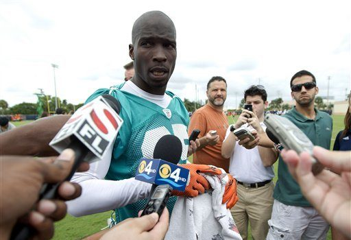 Miami Dolphins Cuts Chad Ochocinco Johnson