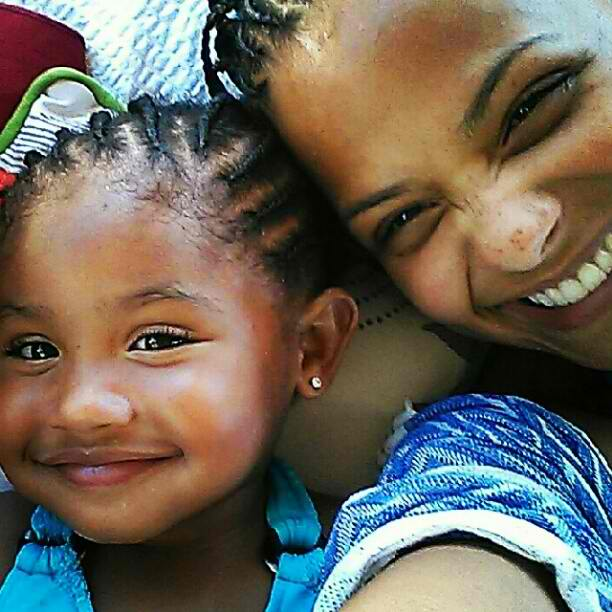 Christina Milian Amp Daughter Rock Matching Cornrows In