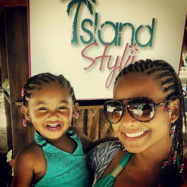 Christina Milian_Violet_Caribbean Vacation_thejasminebrand
