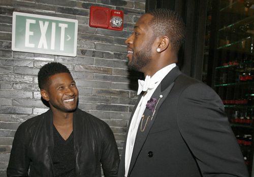 Dwyane Wade Congrats Usher Raymond On Winning Custody Battle