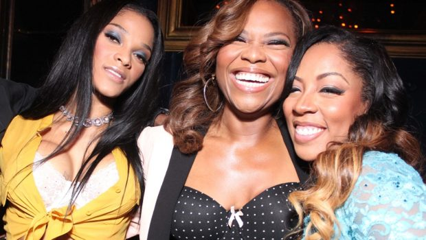 [Photos] LHHA's Joseline, Stevie J, K.Michelle & Lil Scrappy Hit NYC Press Event