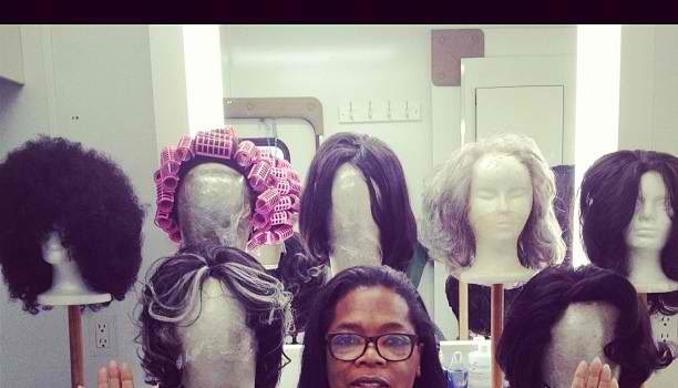 Oprah Winfrey Channels Her Inner Nicki Minaj, Shows Off Her Wig Game