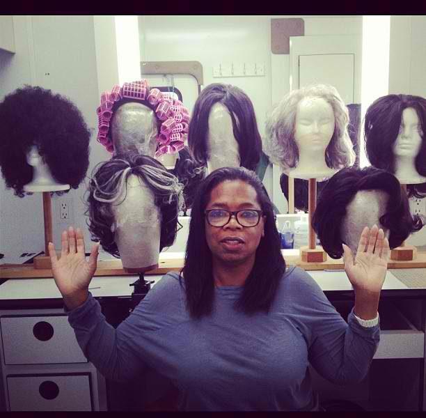 Oprah Winfrey Channels Her Inner Nicki Minaj, Shows Off Her Wig Game