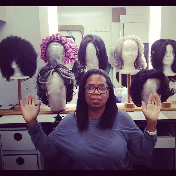 Oprah Winfrey Channels Her Inner Nicki Minaj Shows Off