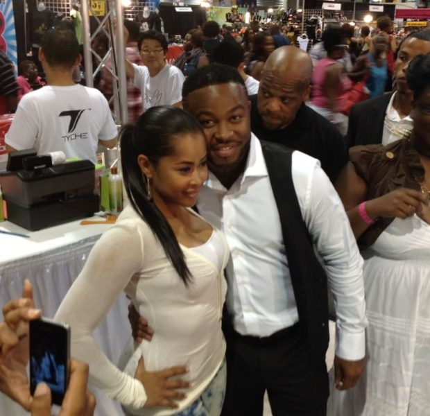 [Candids] RHOA's Cynthia Bailey, OMG Girlz, Pleasure P Hit Bronner Hair Show