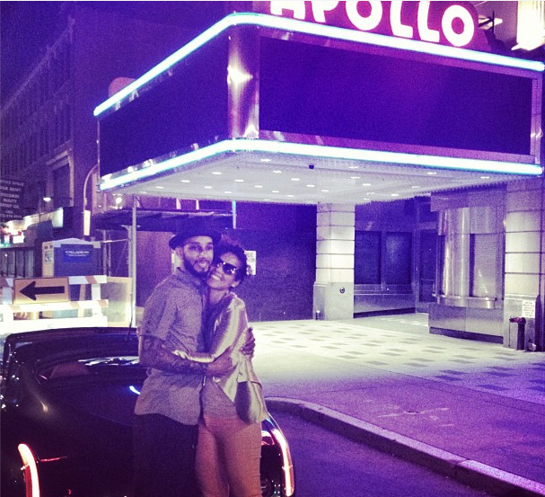Alicia Keys & Swizz Beatz Celebrate Wedding Anniversary With Apollo & Car Accident