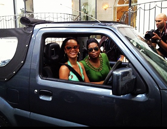 Oprah Winfrey Visits Rihanna, Vanessa Bryant Twirks In Her Seat + More Celeb Stalking