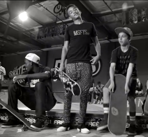 [Video] Jaden Smith Introduces Skate Culture & Leopard Pants In 'Pumped Up Kicks'