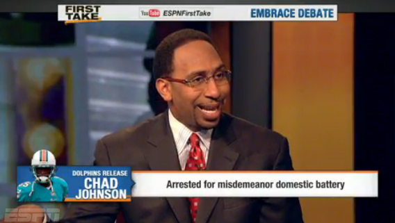 [Video] Stephen A. Smith Partially Blames Evelyn Lozada for Alleged Domestic Dispute