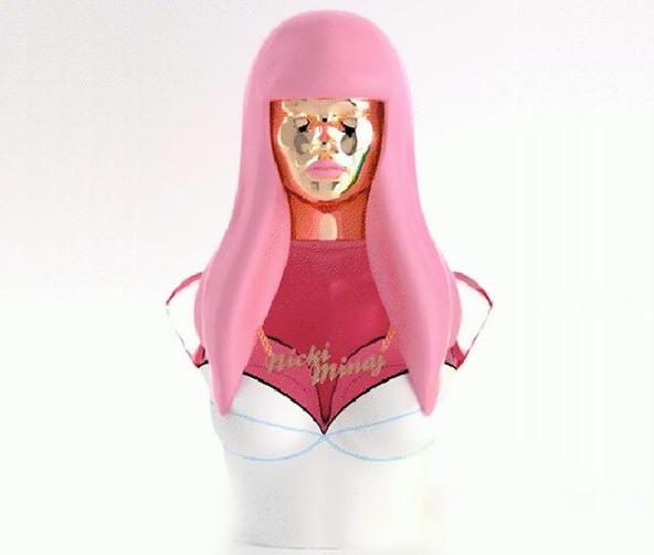 Haute or Hot A** Mess : Nicki Minaj Releases Perfume Bottle