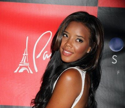 Angela Simmons Wears Shear Dress & Boy Shorts to Sister Vanessa's Birthday Party