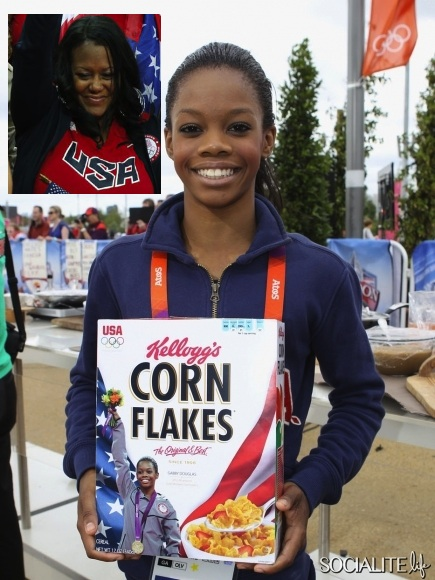 Gabby Douglas' Mom 'Not Embarrassed About Bankruptcy'