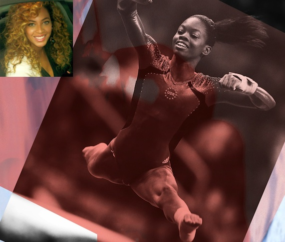 "Beyonce Praises Gabby Douglas, ""I Can Tell You've Been Working Hard For So Long!"""