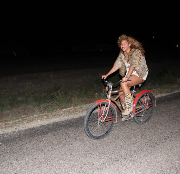 [Pics] Beyonce Feeds Blue Ivy, Swings With Jay-Z, Hoola Hoops & More