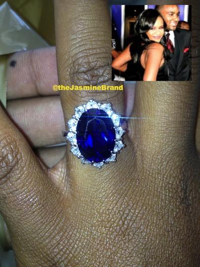 Bobbi Kristina Shows Off Her Rumored Engagement Ring