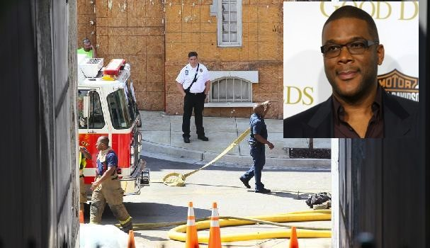 Careless Smoking Caused Tyler Perry's Studio To Catch Fire for Second Time