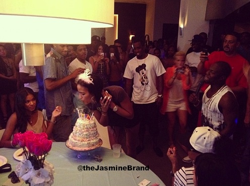 Diddy Throws House Party for Cassie's Birthday + Hits Club With Chris Brown, Tyga & Friends