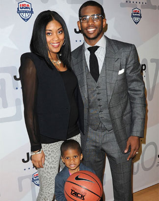 Chris Paul & Wife Deliver Healthy Baby Girl