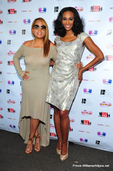 cynthia bailey rhoa-atlanta fashion show-the jasmine brand