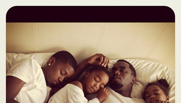 Diddy & the Kids Sleep, KimYeCray's Ring, Drake Hits DC + More Celebrity Stalking