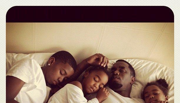 Diddy & the Kids Sleep, KimYeCray's Ring, Drake Hits DC + More Celebrity Stalking