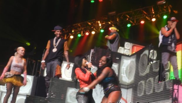 [Video] Nicki Minaj Brings Foxy Brown Out During NYC Show