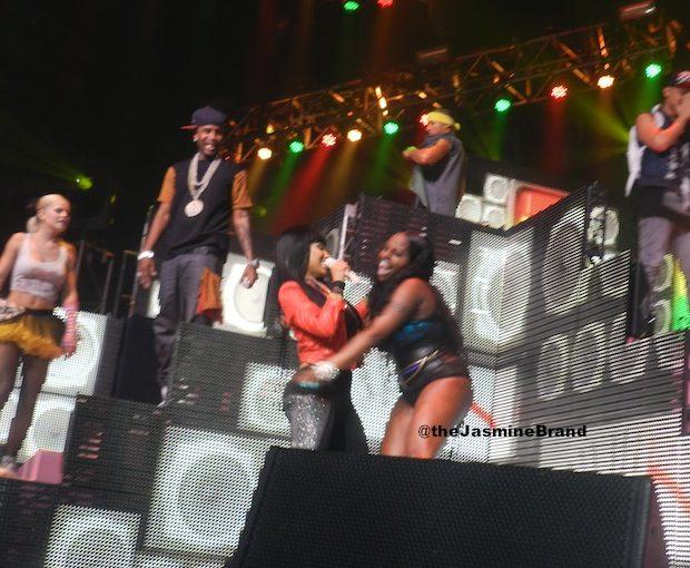 [Video] Nicki Minaj Brings Foxy Brown Out During NYC Show